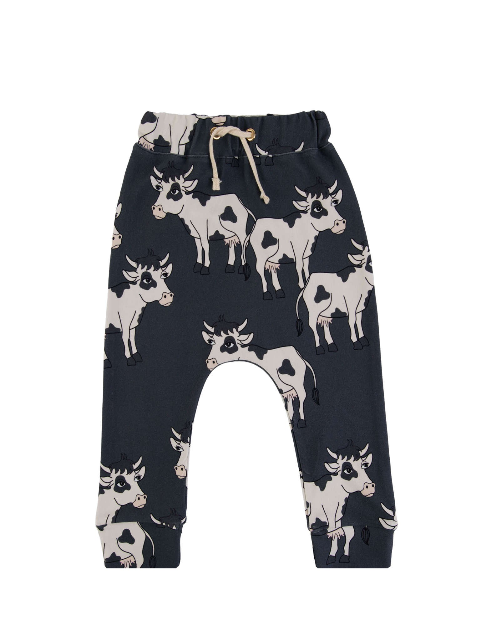 COW DARK PANTS