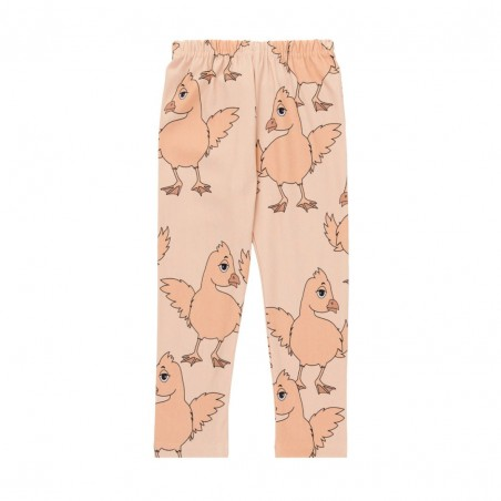 YELLOW CHICKEN LEGGINS