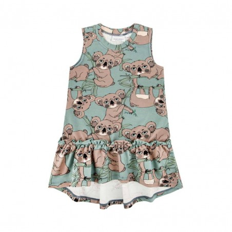 KOALA SEA-GREEN DRESS