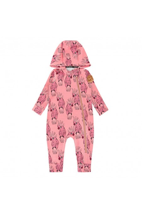PARROT PINK OVERALL