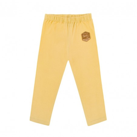BASIC PALE YELLOW LEGGINS