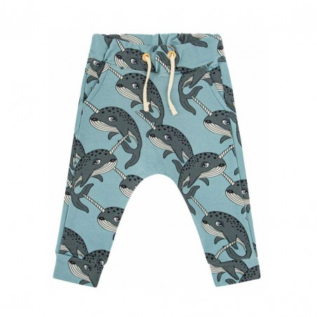 NARWHAL BLUE PANTS