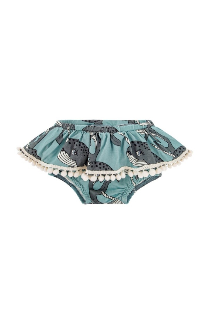 NARWHAL BLUE BLOOMERS