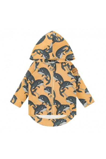 NARWHAL YELLOW HOODIE
